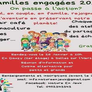 FAMILLES ENGAGEES 2019